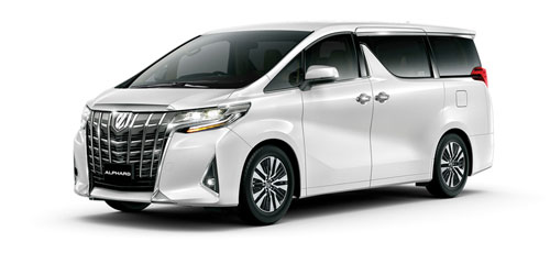 Toyota Alphard Mpv For Cross Border Transporation Hong Kong Limo Service